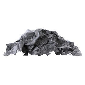 Mouldable grey rock paper, dimensions 50x70 cm s3