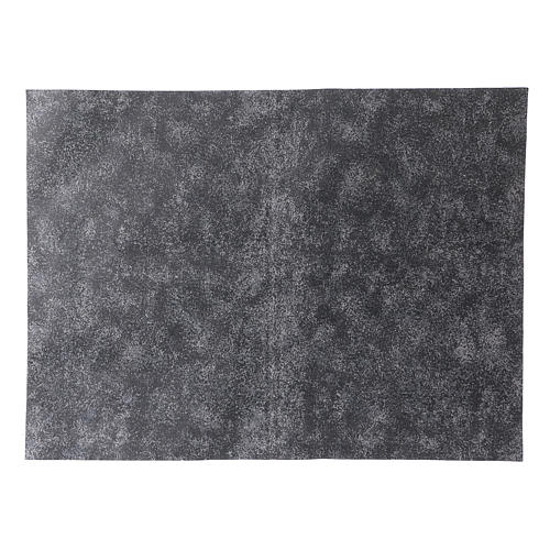 Mouldable grey rock paper, dimensions 50x70 cm 1