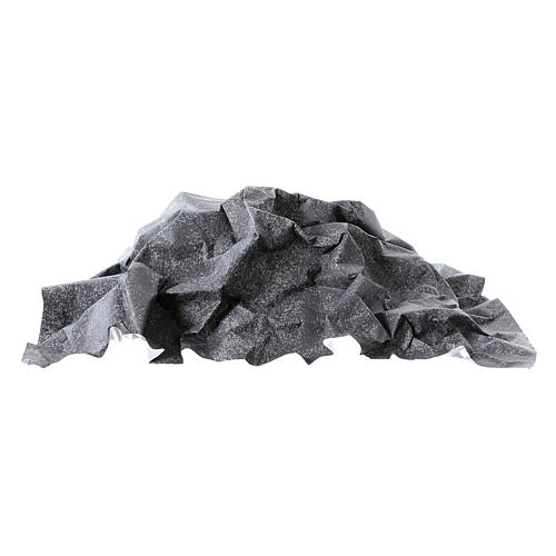 Mouldable grey rock paper, dimensions 50x70 cm 3