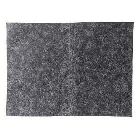 Papier à modeler roche grise 50x70 cm s1