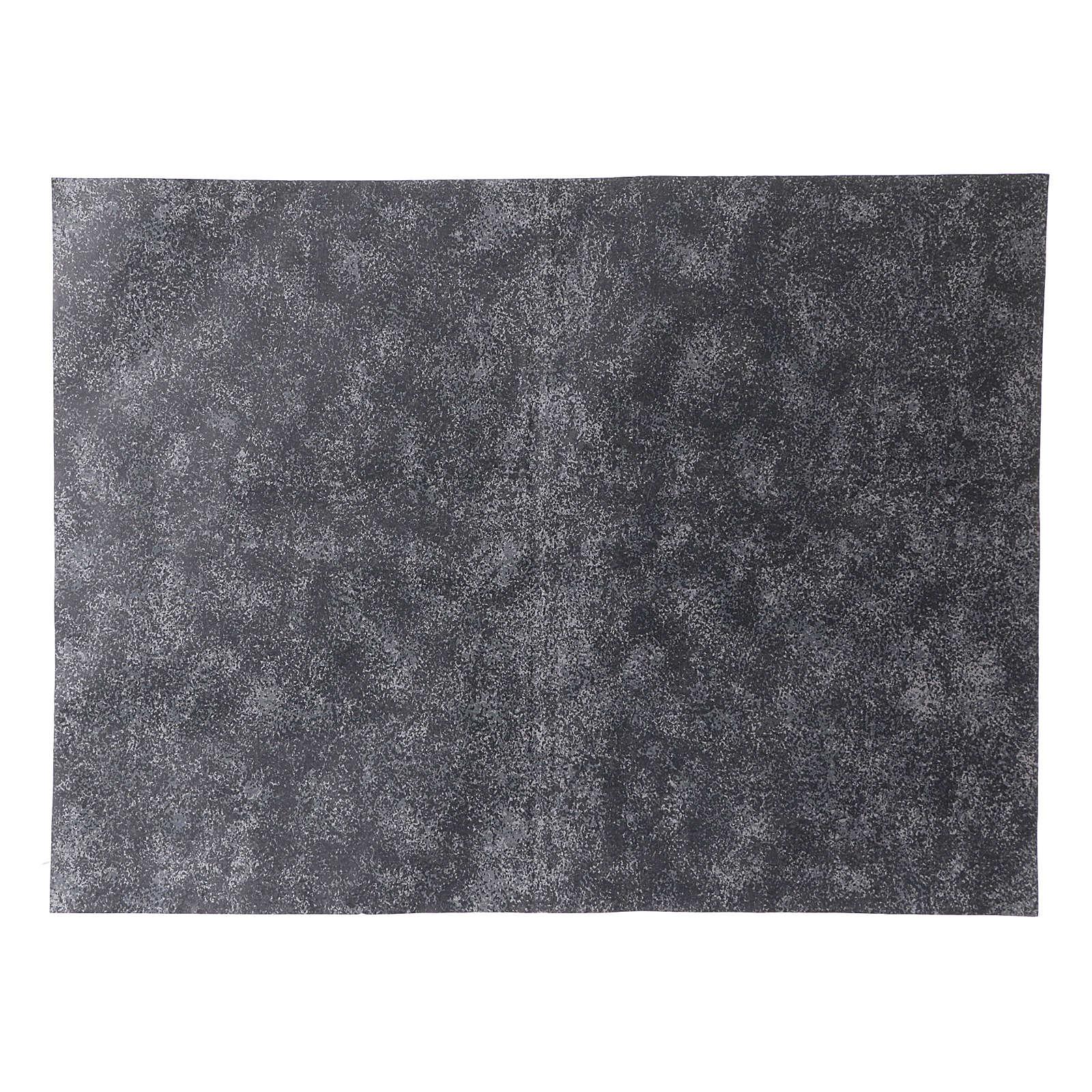 Carta modellabile roccia grigia 50x70 cm 4