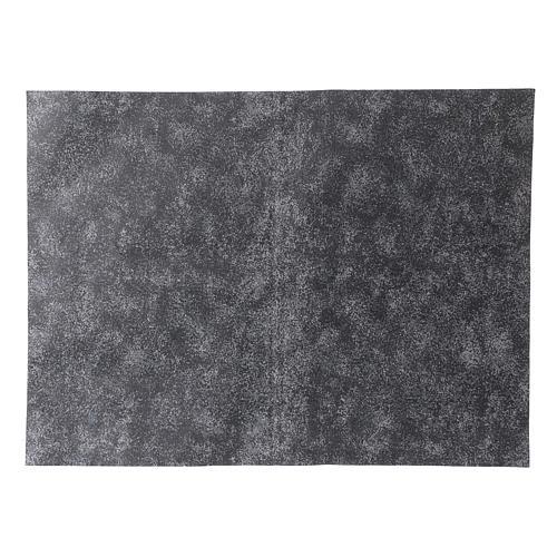 Carta modellabile roccia grigia 50x70 cm 1