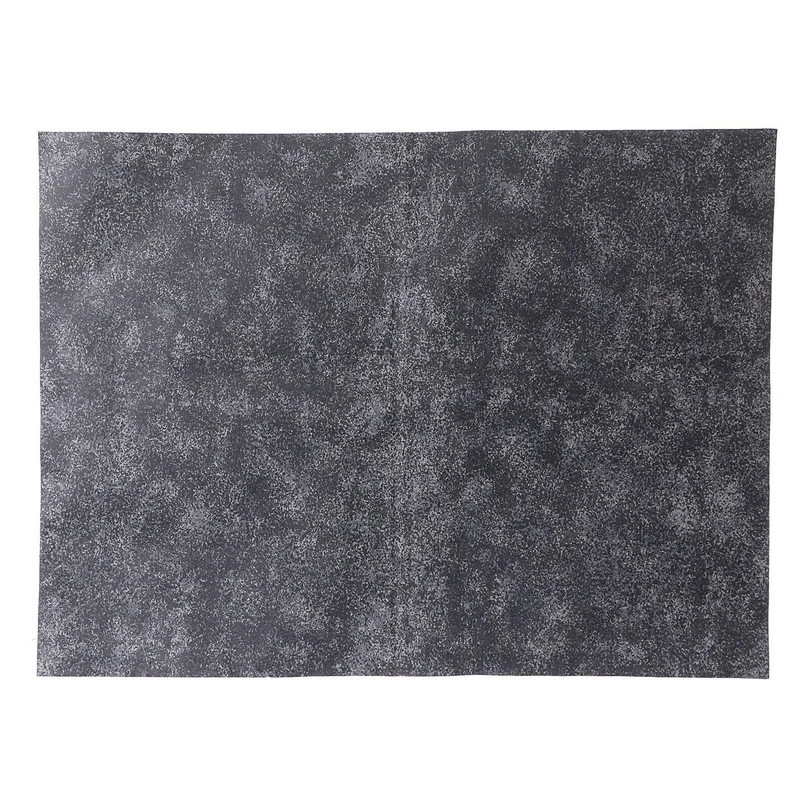 Nativity backdrop, rock grey paper 50x70 cm 4