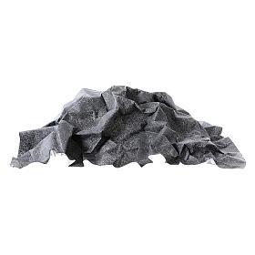 Nativity backdrop, rock grey paper 50x70 cm s3