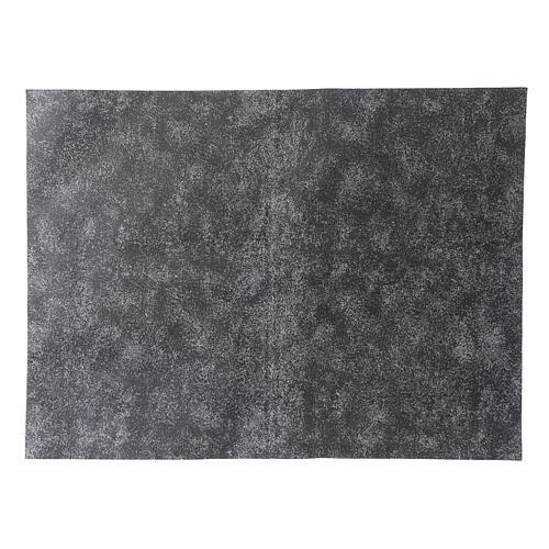 Nativity backdrop, rock grey paper 50x70 cm 1