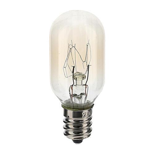 Lampadina 3 lumen 220V E12 1,5W 1