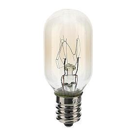 Luzes e Lamparinas para o Presépio: Lâmpada 3 lúmenes 220V E12 1,5W