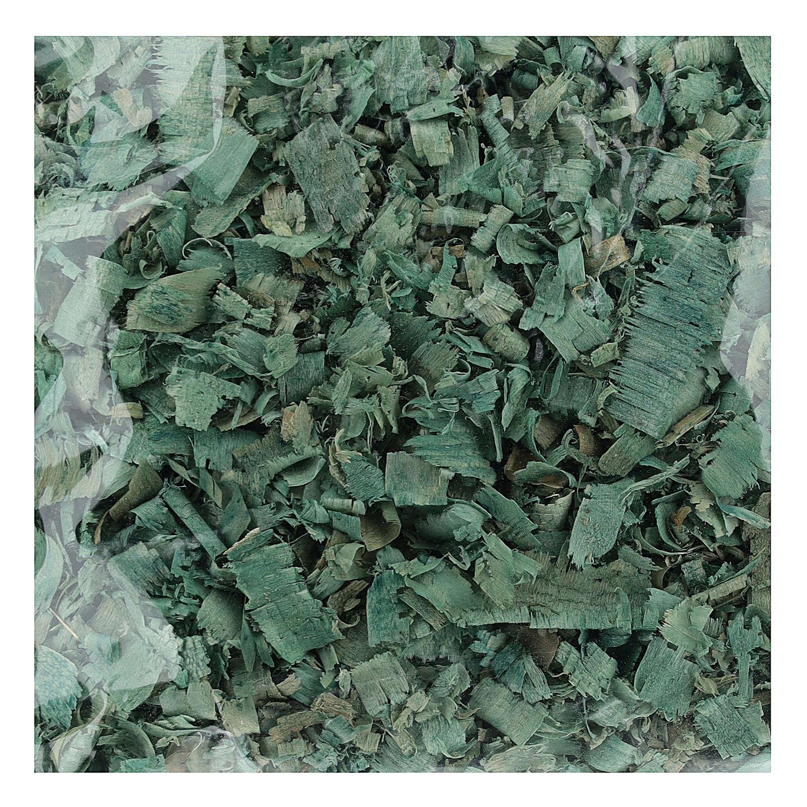 Copeaux verts 100 gr pour sols crèche 4