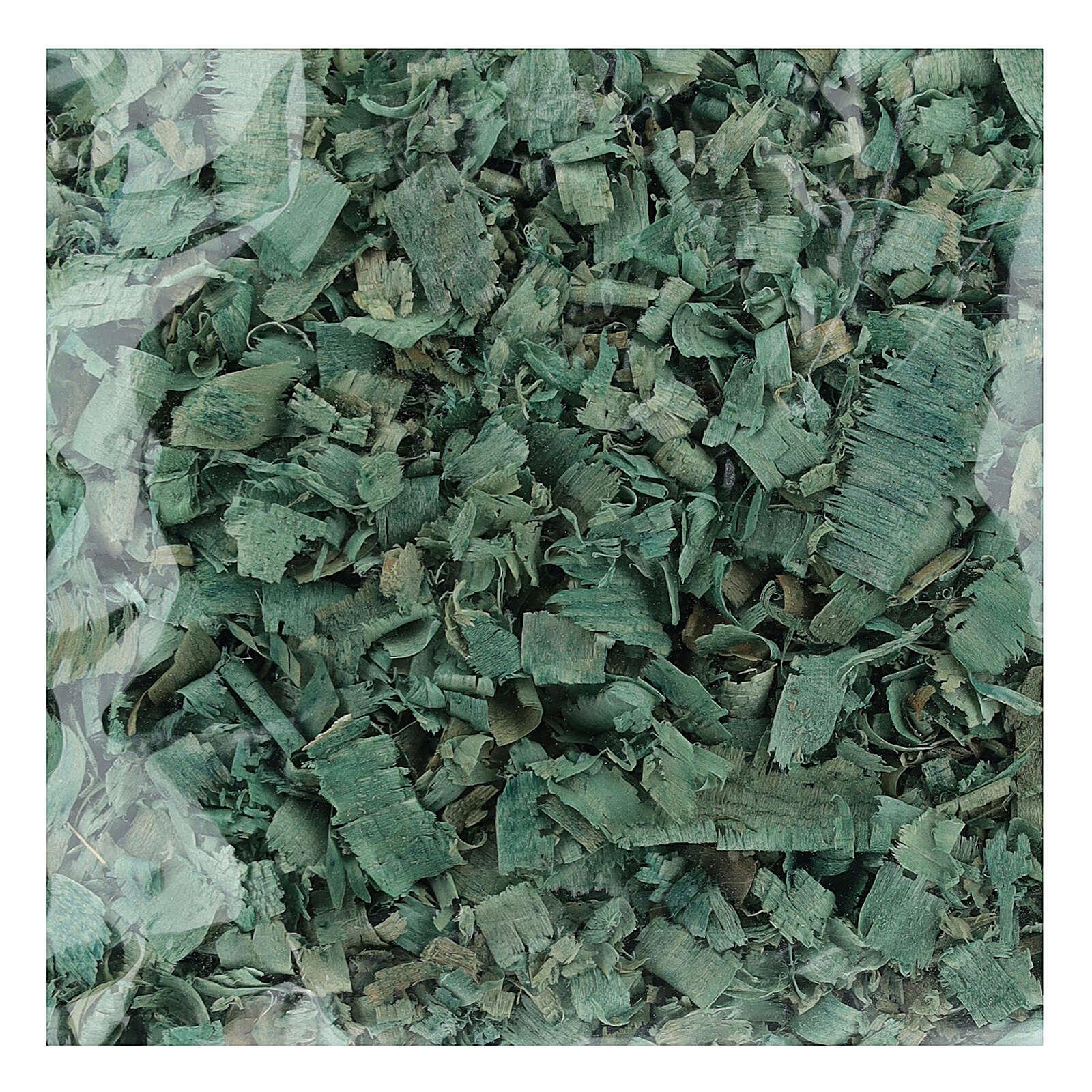 Wióry zielone 100 g do podłoża szopki 4