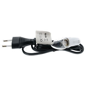 Lampholder and flame effect bulb E12 s2