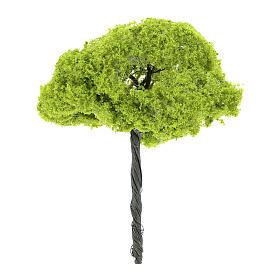 Árbol verde sin base altura real 14 cm s2