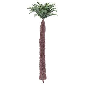 Palmier sans base pour bricolage crèche h réelle 17 cm s2