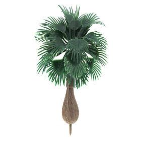Palmier sans base pour bricolage de crèche h réelle 10 cm s1
