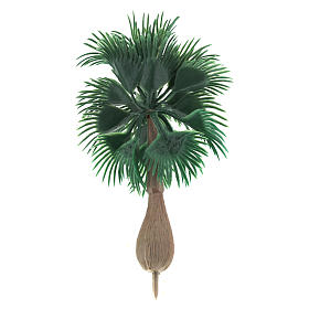 Palmier sans base pour bricolage de crèche h réelle 10 cm s2