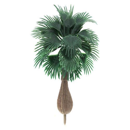 Palmier sans base pour bricolage de crèche h réelle 10 cm 1