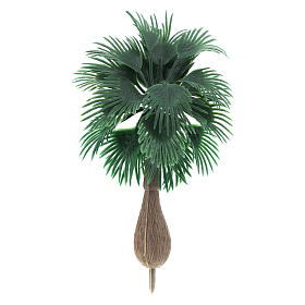 Palma senza base per presepe fai da te h reale 10 cm s1