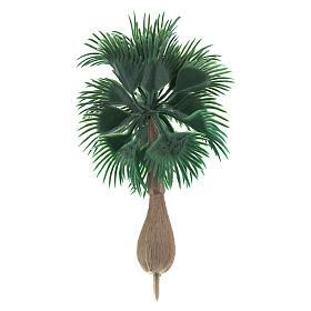 Palma senza base per presepe fai da te h reale 10 cm s2