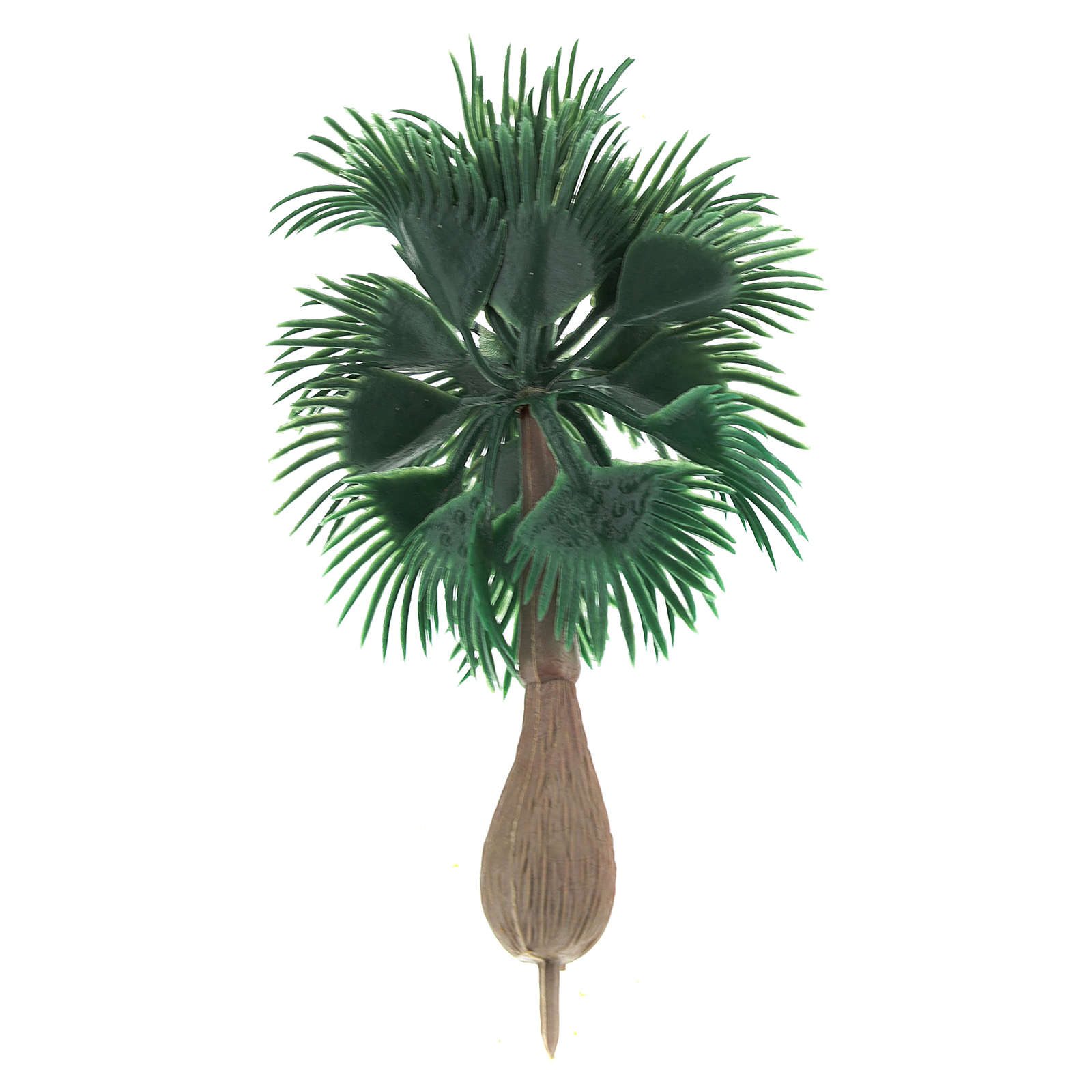 Palm tree figurine without base, for diy nativity real h 10 cm 4