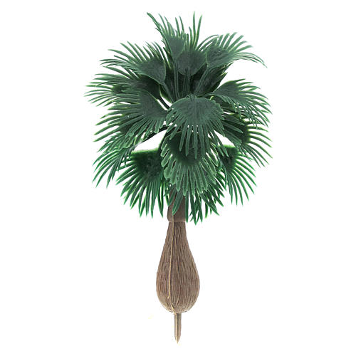 Palm tree figurine without base, for diy nativity real h 10 cm 1