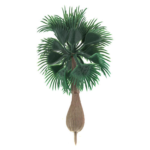 Palm tree figurine without base, for diy nativity real h 10 cm 2