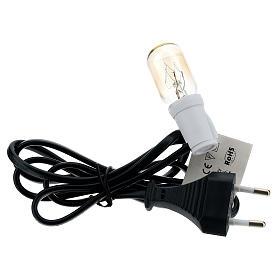 Soquet et ampoule 3 lumen E12 s2