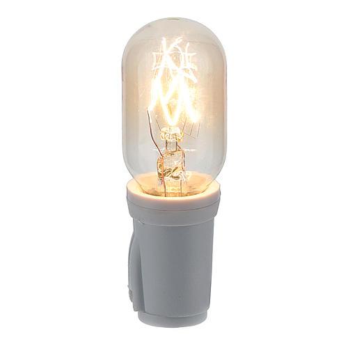 Soquet et ampoule 3 lumen E12 1