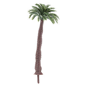 Palm tree figurine without base, real h 9 cm for DIY nativity s2