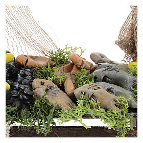 Mussel and fish stand Nativity scene 11 cm s2