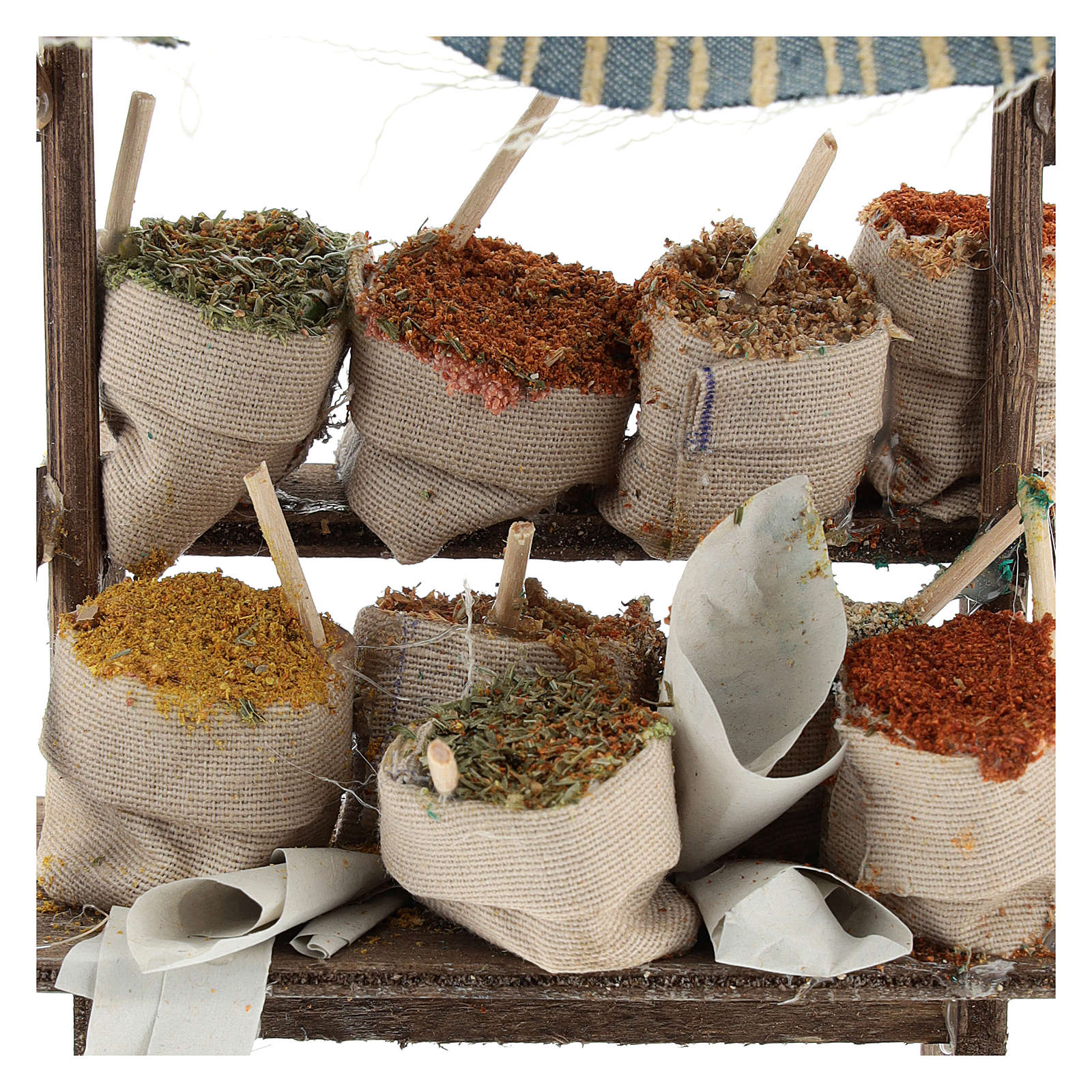 Spice stall Nativity scenes 12 cm 4