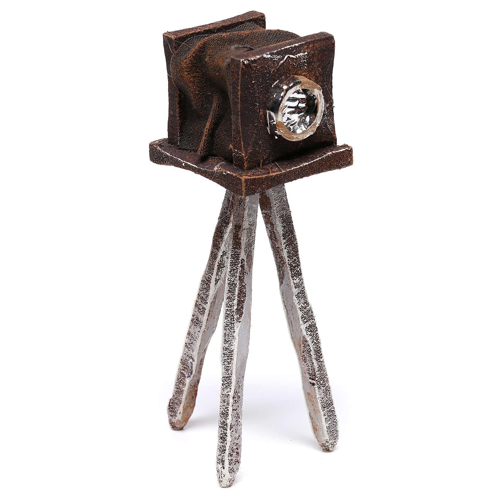 Macchina fotografica 10x5x5 cm per presepe di 12 cm  4