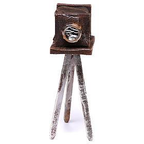 Macchina fotografica 10x5x5 cm per presepe di 12 cm  s1