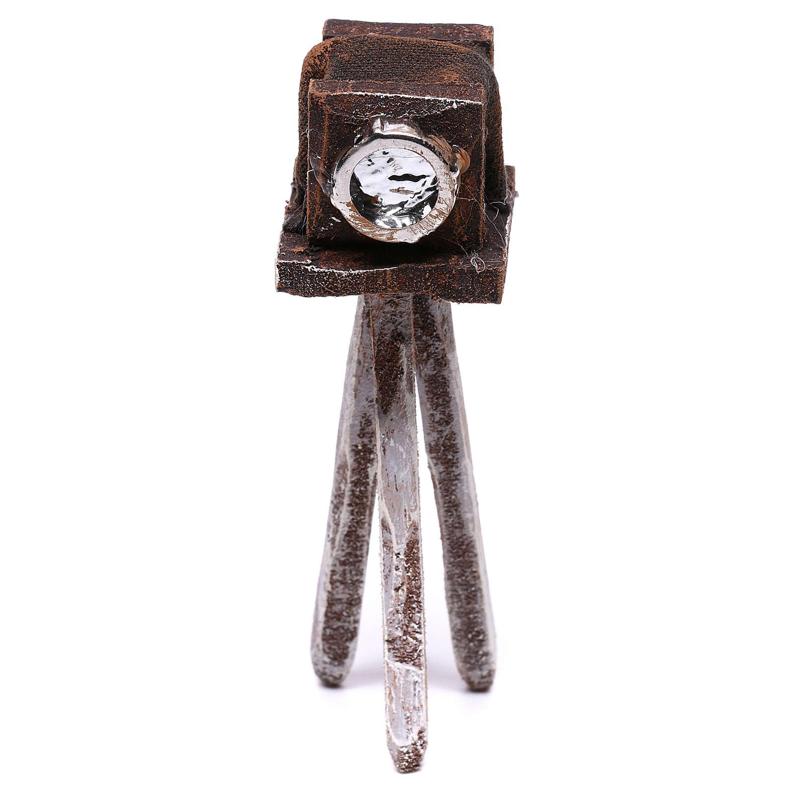 Macchina fotografica 10x5x5 cm per presepe di 10 cm  4