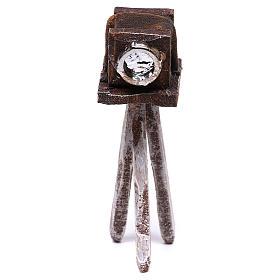 Miniature antique camera 10x5x5 cm, for 10 cm nativity s1