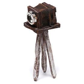 Miniature antique camera 10x5x5 cm, for 10 cm nativity s3