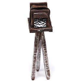 Miniature antique camera 10x5x5 cm, for 10 cm nativity s4