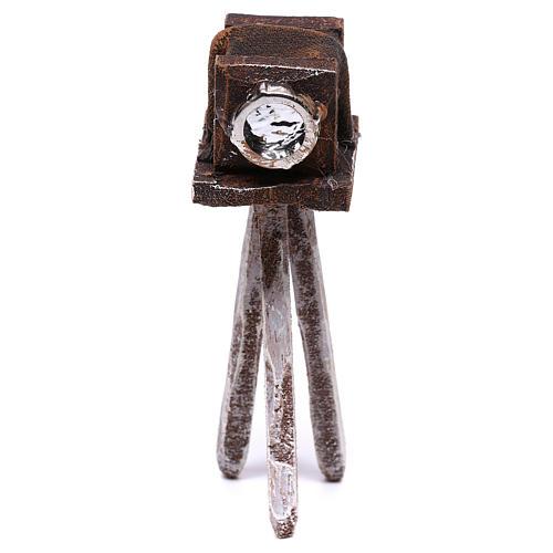Miniature antique camera 10x5x5 cm, for 10 cm nativity 1