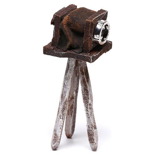 Miniature antique camera 10x5x5 cm, for 10 cm nativity 2