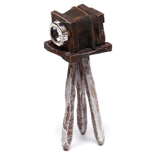 Miniature antique camera 10x5x5 cm, for 10 cm nativity 3