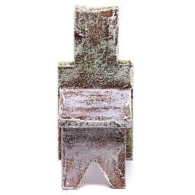 Acessórios de Casa para Presépio: Cadeira 5x5x5 cm para presépio com figuras de 12 cm de altura média