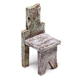 Miniature chair 5x5x5 cm, for 12 cm nativity s2