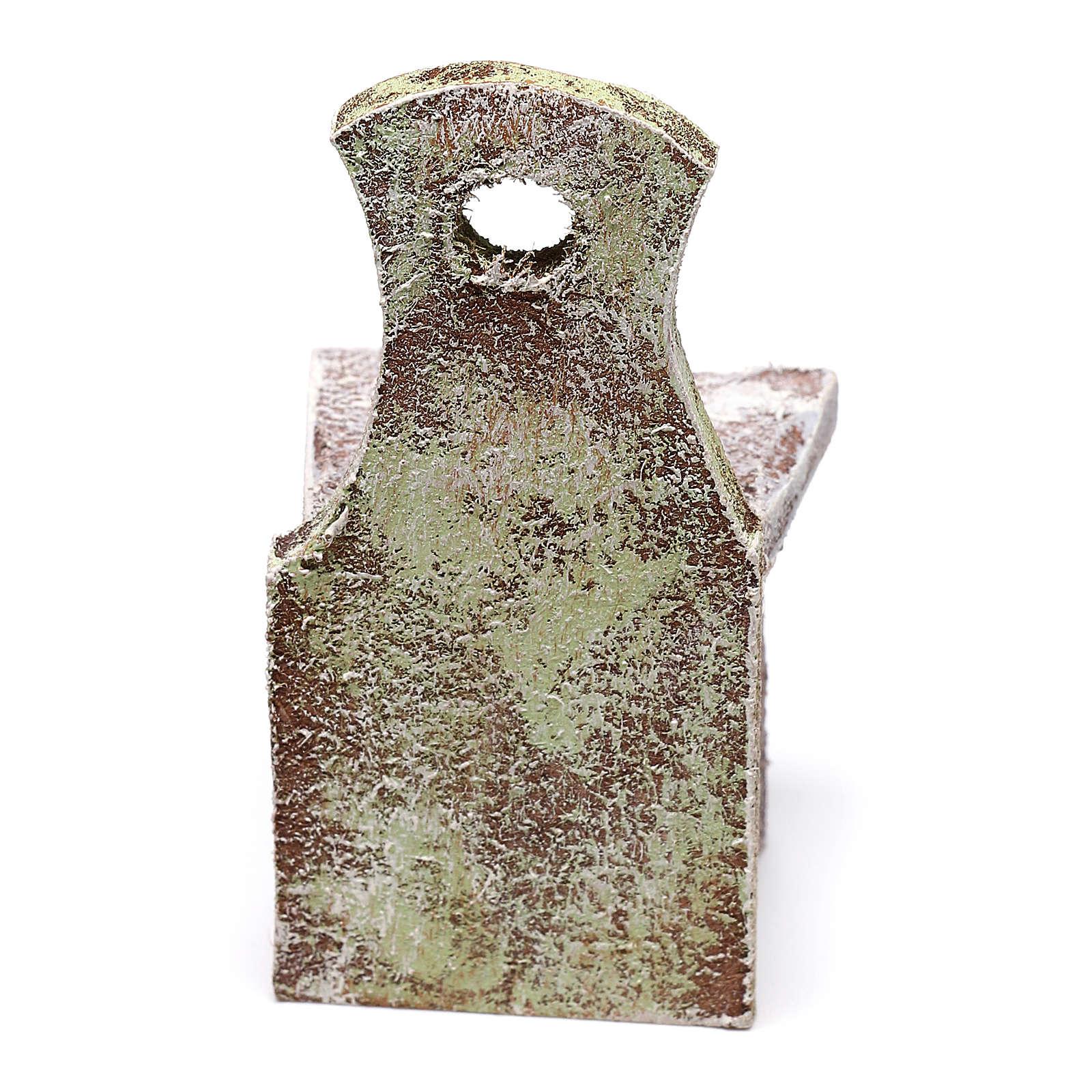Chaise dossier décoré 5x5x5 cm pour crèche de  4