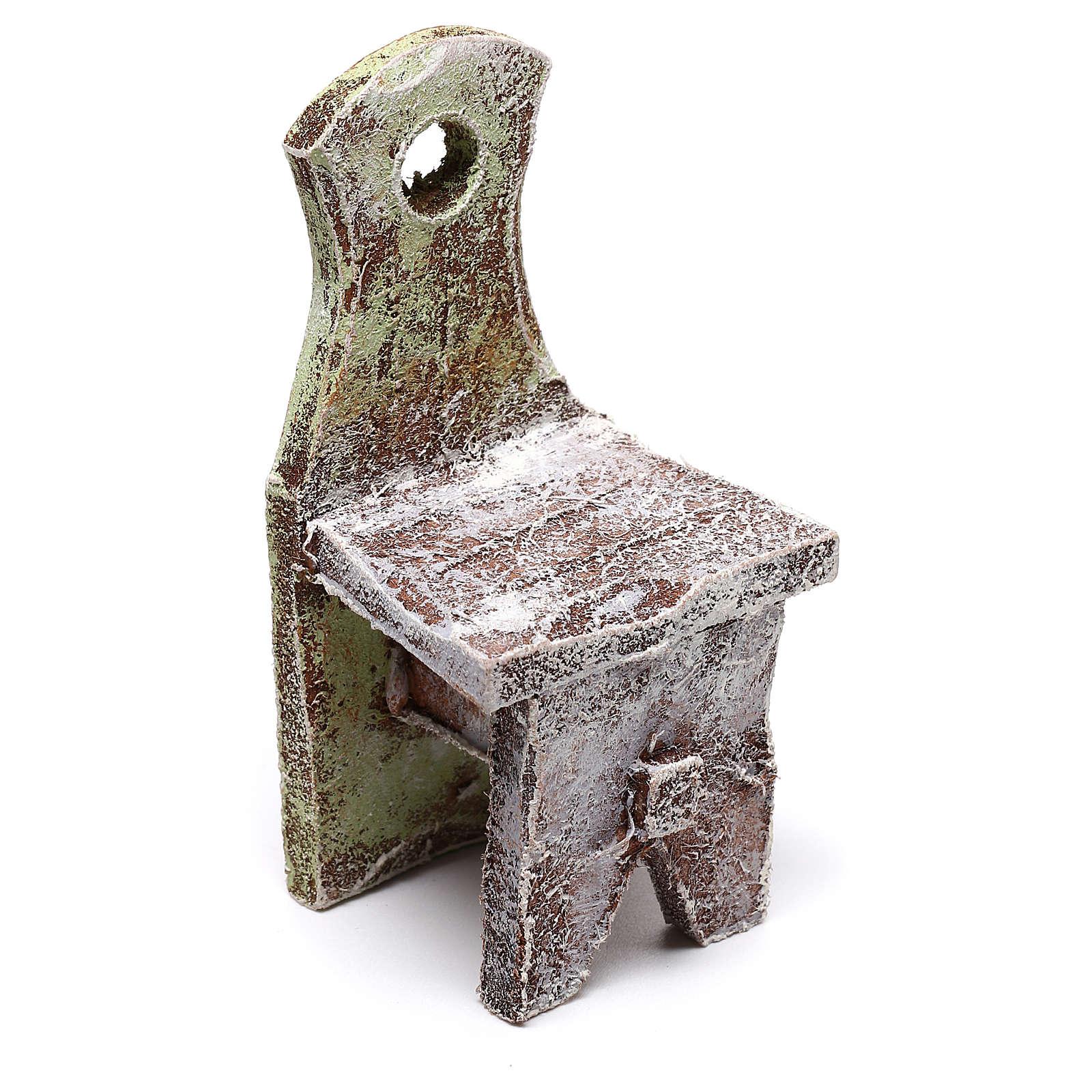 Chair figurine 5x5x5 cm, for 12 cm nativity 4