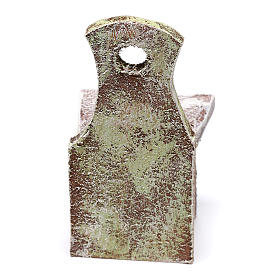 Chair figurine 5x5x5 cm, for 12 cm nativity s3