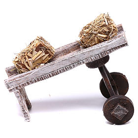 Miniature tools: Accessory for hay of 10x10x5 cm for Nativity scene of 10 cm