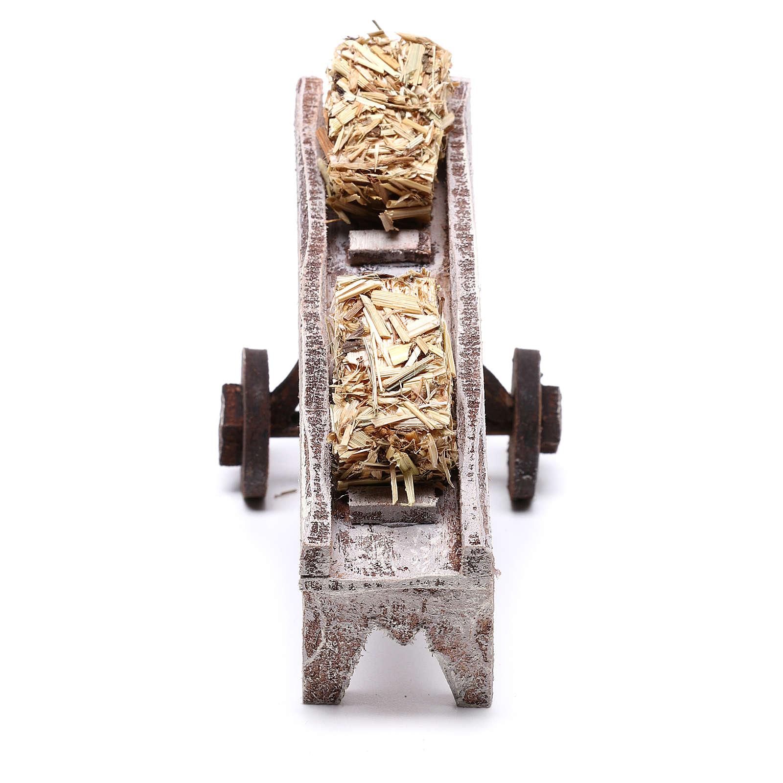 Accessorio per fieno di 10x10x5 cm per presepe di 10 cm  4