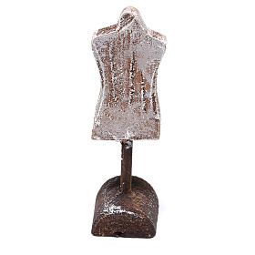 Buste mannequin 10x5x5 cm pour crèche de 12 cm s3