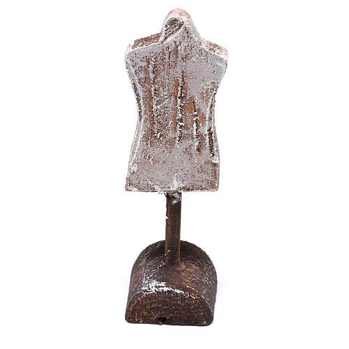 Buste mannequin 10x5x5 cm pour crèche de 12 cm 3