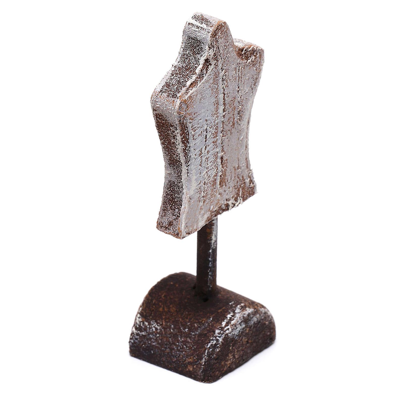 Mannequin 5x5x5 cm pour crèche de 10 cm 4
