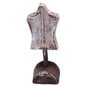 Acessórios de Casa para Presépio: Manequim busto 5x5x5 cm para presépio com figuras de 10 cm de altura média