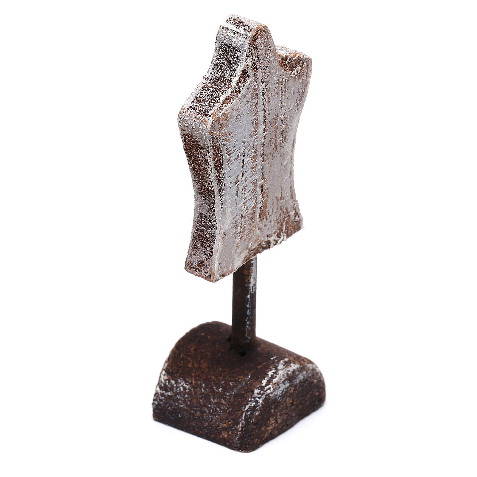 Mannequin figurine 5x5x5 cm, for 10 cm nativity 4